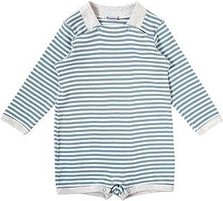 Hoppetta 条纹短款大衣 蓝色 70