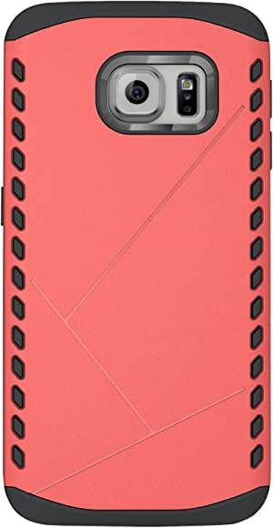 Cruzerlite Cell Phone Case for Samsung Galaxy S6 Edge - Retail Packaging - 粉红色