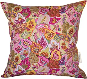 TangDepot * 纯棉印花布装饰抱枕套,手工制作,45 种颜色,19 种尺寸可选