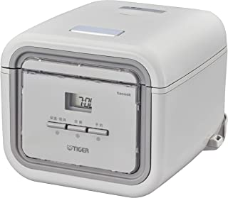 Tiger 虎牌电饭煲 3合 微电脑单人生活用 附食谱 灰色tacook 现象 JAJ-G550-HA