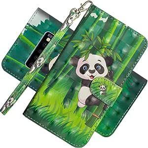 EMAXELER 三星 Galaxy S10 3D 全时尚浮雕手机壳 3D: Panda