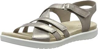 ECCO 女童 Flora 露趾凉鞋