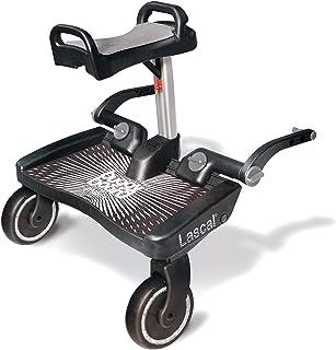 Lascal Maxi + BuggyBoard 婴儿车辅助踏板 schwarz + grau