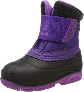 Kamik 男女通用儿童 Wren 雪地靴