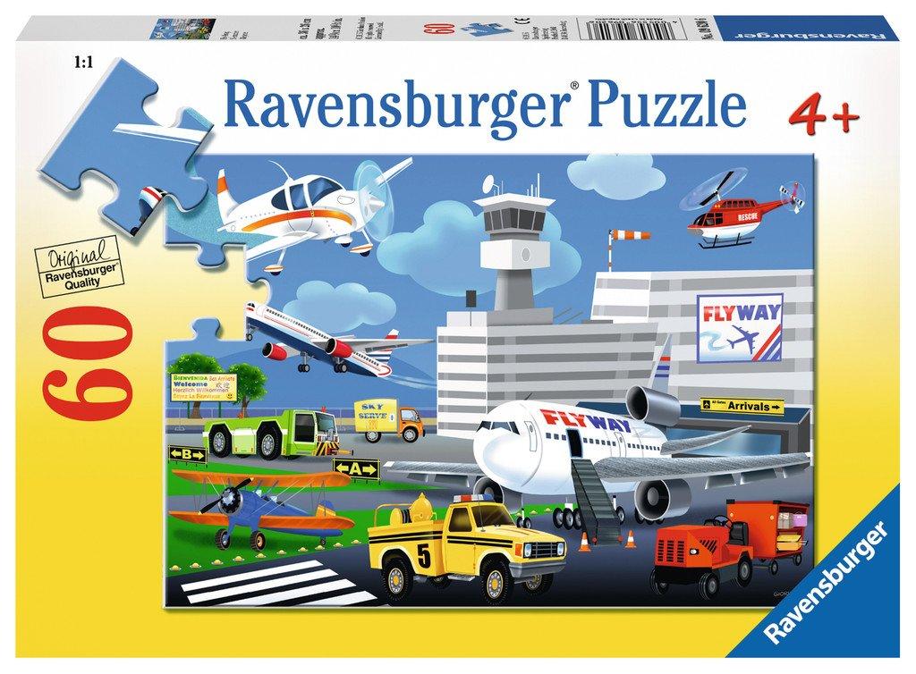 睿思ravensburger飞机场 60片096206儿童早教益智盒装