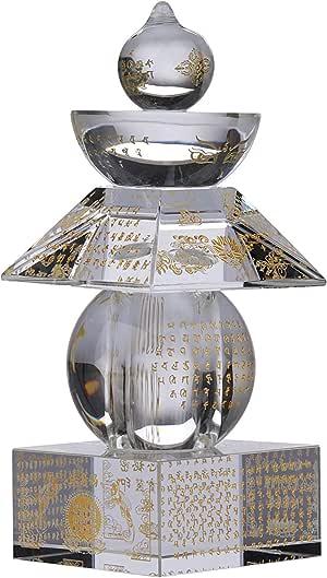 I-MART Feng Shui 水晶 5 色 5 元素 透明 5.5 Inches - Clear