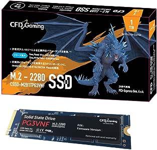 CFD 贩卖 内置SSD M.2 2280 NVMe PCI-E Gen.4 x 4(NVMe 1.3) PG3VNF系列 1TB CSSD-M2B1TPG3VNF