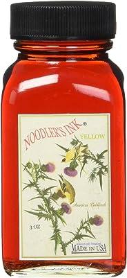 Noodler 墨水钢笔瓶装墨水,3盎司,黄色