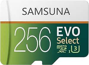 SAMSUNA 256GB Micro SD 卡 Class 10 存储卡 TF Micro SD 反式闪存卡