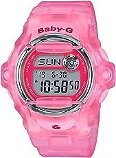 Casio BG169R-4E 女宝宝手表 粉红色 42.6mm 树脂