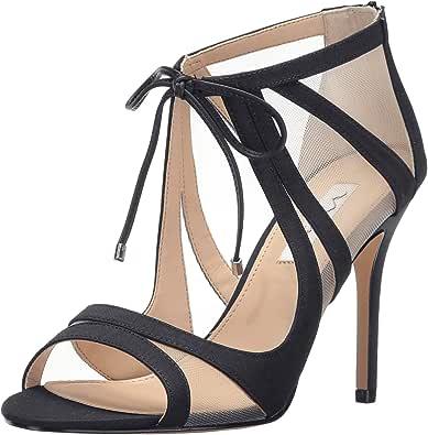 Nina 女士 Cherie-Ym 正装高跟鞋 Black Peau/Champ Mh/Bk Le 10