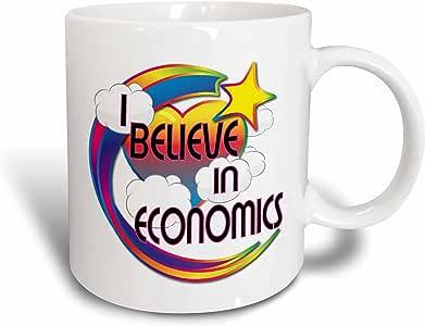 mug_166456_1 Dooni Designs - Believe In Dreamy Belief Designs - I Believe In Economics Cute Believer Design - Mugs - 11oz Mug