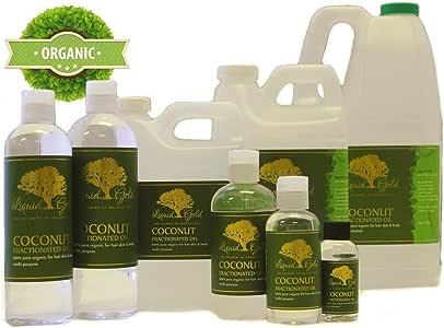 32 液体盎司优质分裂椰子油护发素保湿按摩