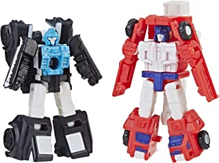 Transformers Toys Generations 变形金刚玩具:Cybertron:Siege Micromaster Wfc-S19 汽车人救援巡逻队2 件装可动公仔 - 成人和儿童 8 岁及以上,1.5 英寸