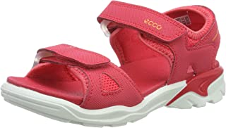 ECCO 女童 Biom Raft 露趾凉鞋