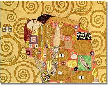 Trademark Fine Art Fulfilment by Gustave Klimt Canvas Wall Art, 18x24-Inch