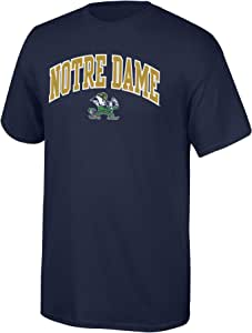 Elite Fan Shop NCAA T 恤球队颜色拱形 Notre Dame Fighting Irish *蓝 大
