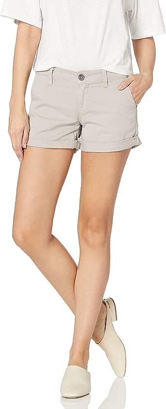 Mavi Jeans 女式维也纳斜纹短裤 Silver Mink Twill 26