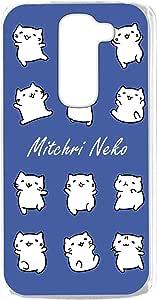 みっちり 猫透明印花 みっちり 猫白色系列手机壳  みっちりねこホワイトシリーズJ 21_ LG G2 mini LG-D620J