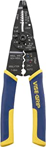 IRWIN Tools VISE-GRIP Multi Tool Stripper, Cutter and Crimper, 8-Inch (2078309)