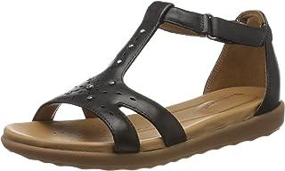 Clarks Women's Un Reisel Mara T-Bar Sandals