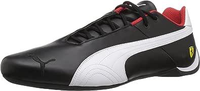 PUMA 男士 Ferrari Future Cat OG 运动鞋 Puma 黑 puma 白水泵 黑色 4.5