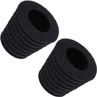 INNOLITES 庭院伞锥形雨伞楔形垫片插头适用于露台台孔开口底座或遮阳伞底座支架1.9至2.7英寸(约4.9至6.9厘米)适合伞杆直径1.5英寸/ 38毫米 黑色