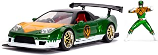 Power Rangers Green Ranger & 2002 Honda NSX Type-R 日本规格 1:24 压铸车 带公仔