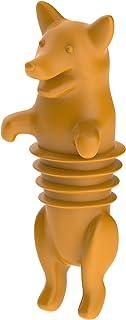 TrueZoo Corki Bottle Stopper, Orange