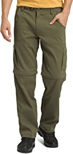 prAna Men's Stretch Zion Convertible 30-Inch Pant