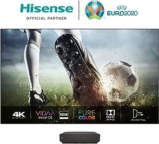 "Hisense (100 英寸) 电视机 100"" 滚动面板,4K 激光电视,UHD,HDR,激光技术,VIDAA U 智能电视,三重调谐器 DVB-C/S/S2/T/T2 DVB-C/S/S2/T/T2,供货包括面板) 100L5F-A12"