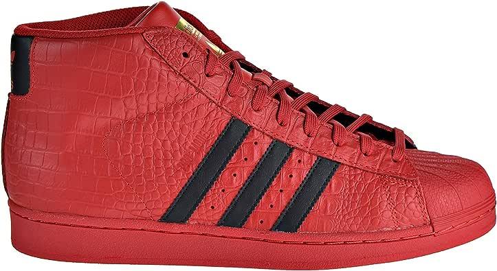 adidas Originals Pro Models 男式鞋 红色/黑色 cq0873(8 D(M) 美国)