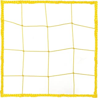 Champion Sports Official Size Soccer Net, 2.5mm, Yellow