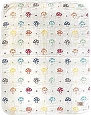 Hoppetta 蘑菇睡袋婴儿被 蓬松的纱布(6层纱布)5241