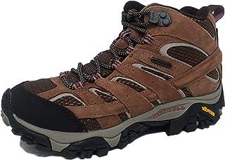 Merrell 女士 Moab 2 中防水登山靴
