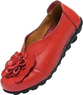 ANYUETE 女式乐福鞋休闲平底鞋