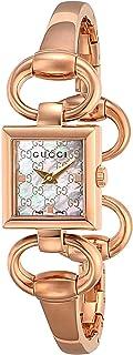[古驰]GUCCI 手表 TORNABOUNI 白色珍珠表盘 不锈钢(PGPVD) 表壳 手镯式表带 YA120519 女士