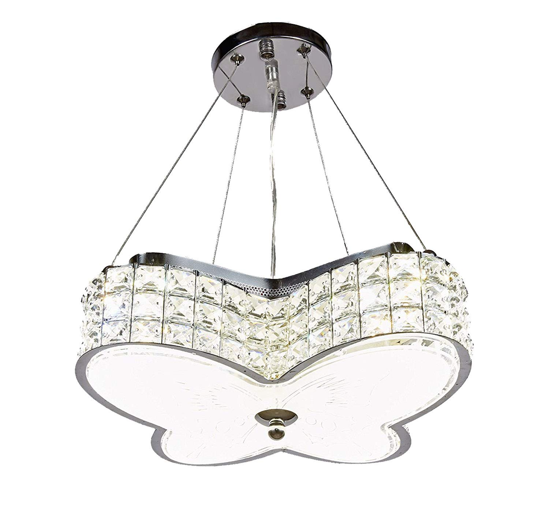 新传奇现代 LED 水晶吊灯吊灯挂或嵌入式天花板照明灯具,三色灯,501