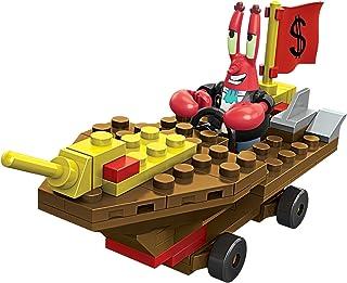 MEGA BLOKS SpongeBob SQUAREPANTS squidward RACER 搭建套装