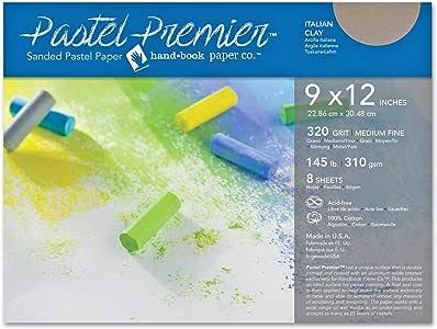 Speedball Art Products Premier 砂光纸 Italian Clay 9 x 12 513028