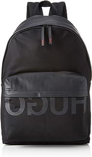 HUGO 男士 50402920 背包,黑色(黑色),16x44x30 厘米