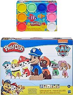 Play Doh 狗狗巡逻队英雄包 + Play Doh 8 包彩虹复合物