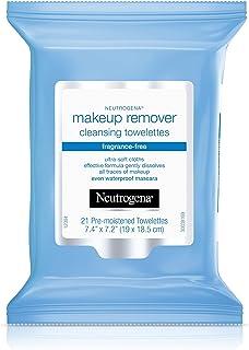 Neutrogena 卸妆湿巾,不含香料,21 支装