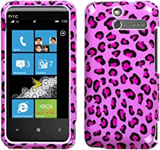 Mybat Protector Cover for HTC Arrive - Retail Packaging - Pink Leopard Skin