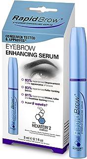 Rapidbrow Eye Brow Enhancing Serum, 3ml/0.1 Fl Oz… - Rapidlash - 海外直邮 【亚马逊海外卖家】