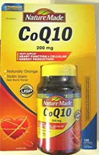 Nature Made 萊萃美 CoQ10 200 mg 140 Softgels