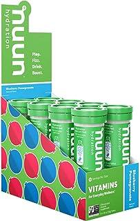 Nuun Hydration 维生素 + 电解质 饮料囊片 Box of 8 Tubes 8