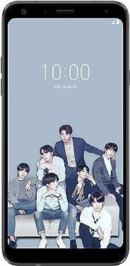 LG Electronics LG Q7+ 限量版 BTS 工厂无锁智能手机 - 黑色(美国保修)