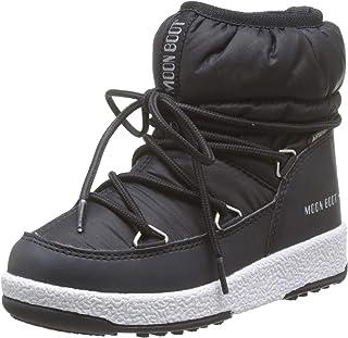 Moon-boot 月亮靴 Jr Girl 低尼龙 Wp 雪地靴,中性款儿童
