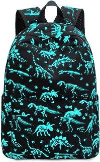 幼儿背包男孩学龄前儿童背包幼儿园书包书包书包带胸带 Luminous Dinosaur